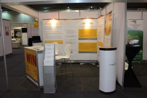 Our stand, right view