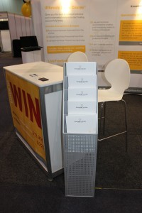Our stand, close up