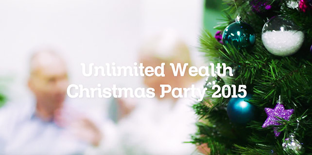 Learn to Trade - Unlimited Wealth Christmas Party 2015