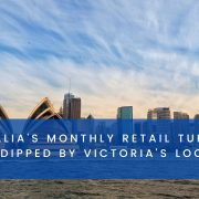 Australia's Monthly Retail Turnover Figures dipped by Victoria's Lockdowns